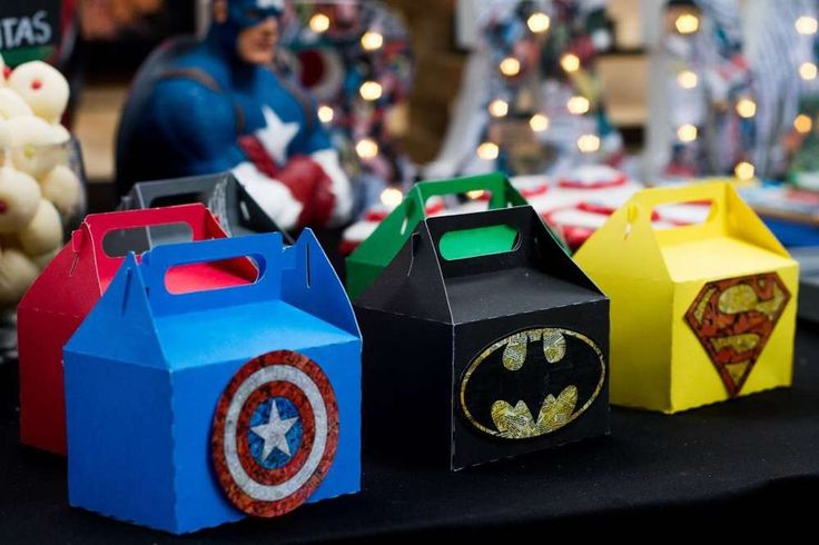 Superheroes Party Birthday Party Ideas | Photo 2 of 15 | Catch My Party