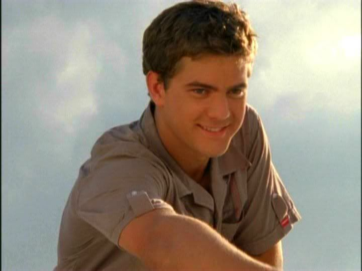 Joshua Jackson as Pacey in Dawson's Creek. I started out a Dawson girl, but quickly fell for Pacey!