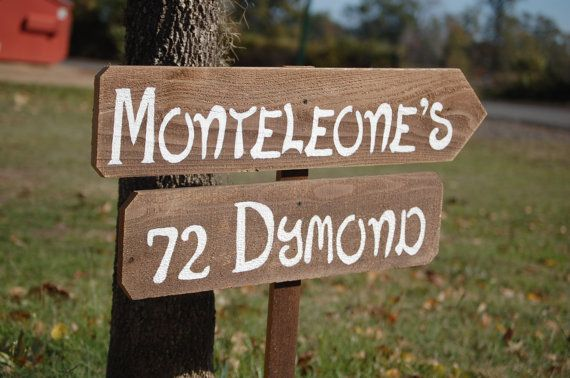 Rustic Home Address Sign, Yard Sign with stake, Name and Address Sign, Post, Family Name Sign, Street signs, Custom Address Signs, Country