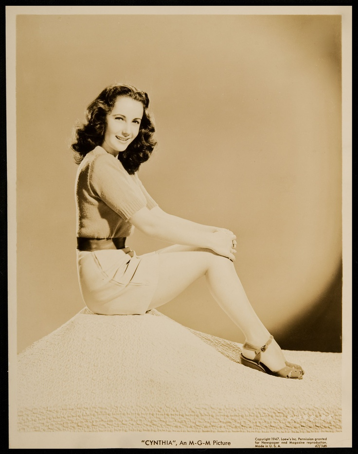 Elizabeth Taylor at 15 years old.  We miss you!