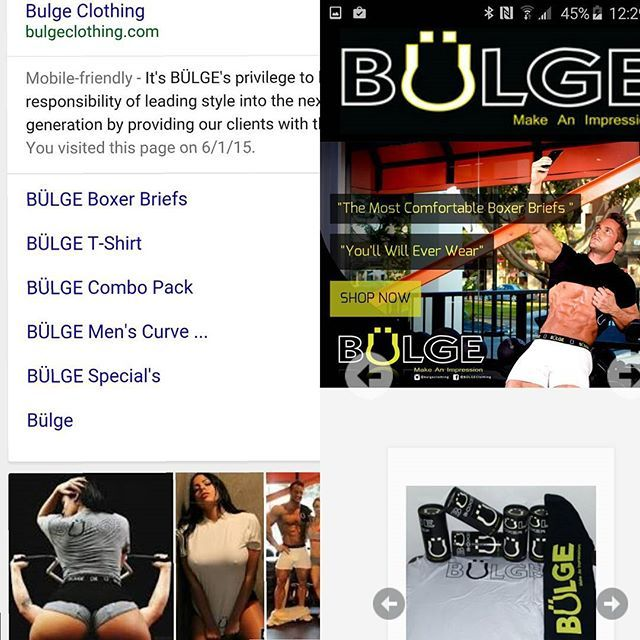 """The most comfortable Boxer Briefs you'll ever wear""  www.BulgeClothing.com #Fight4Autism"