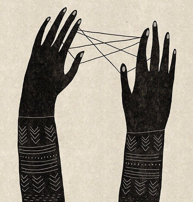 As a kid I loved playing cat's cradle! Did you?