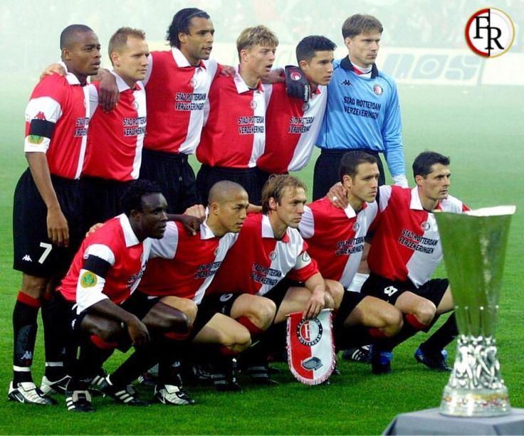 ⚪ De basis elf van de UEFA Cup finale op 8 mei 2002
