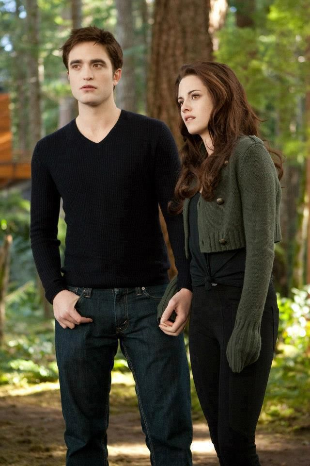 Edward & Bella - 'Breaking Dawn Part 2'. Not going to lie her wardrobe in this movie is fantastic
