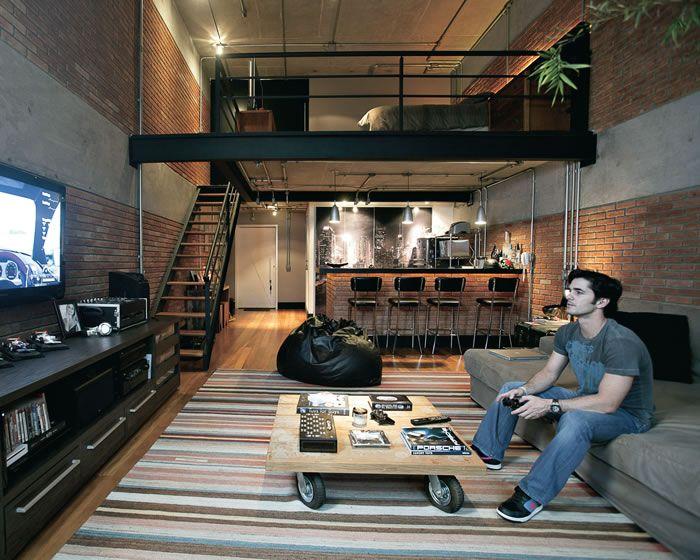 ISTOÉ Gente ::A cara do dono - O loft do empresário ANUAR TACACH, em São Paulo, revela a cada metro quadrado um traço de sua personalidade:: Celebridades