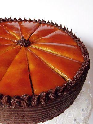 Citromhab: Dobos torta