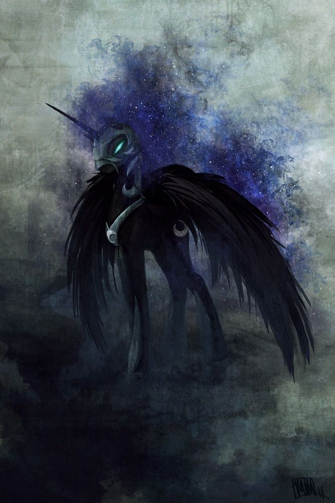 Nightmare Moon - real and only queen of Equestria
