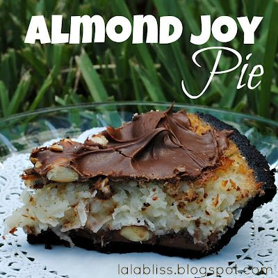 Almond Joy Pie. Yum!