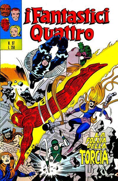 Cover for I Fantastici Quattro (Editoriale Corno, 1971 series) #97