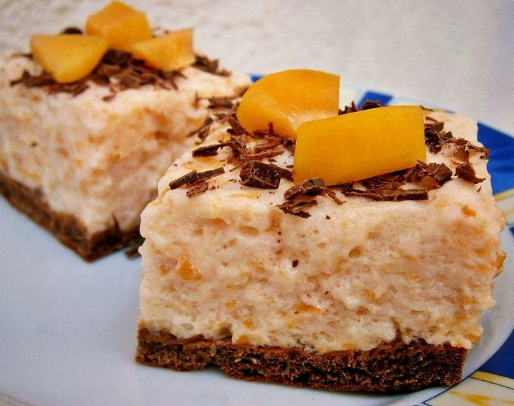 Sárgabarackos-csokis krémes