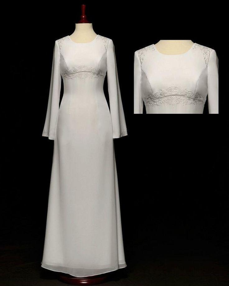 260 best temple garments images on pinterest lds temples for Lds plus size wedding dresses