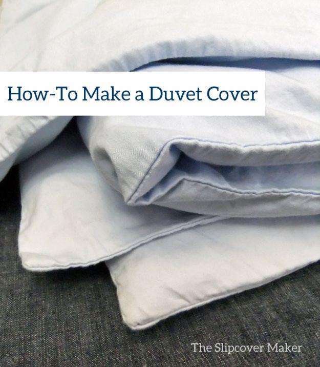 Duvet Cover Tutorial by The Slipcover Maker