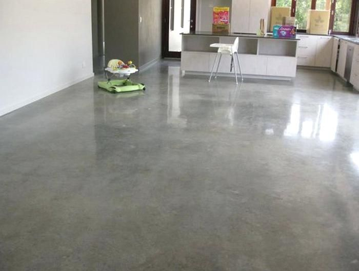 Floor Concrete Slab Moisture Mitigation