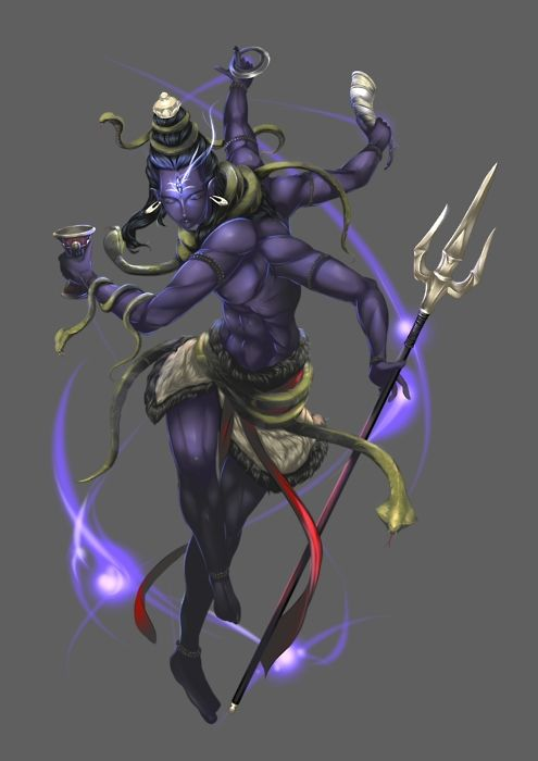 shiva fan art