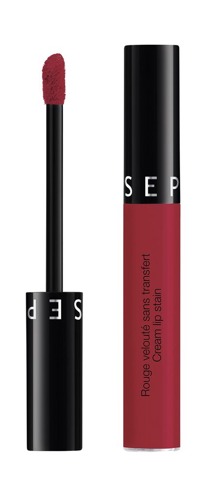 Made in Sephora Cream Lip Stain 17 Dark Red