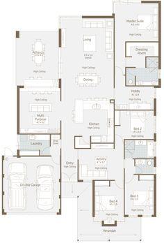 52 Best Smart Home Floorplans Images On Pinterest House