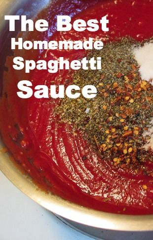Hands-down the best ever spaghetti sauce. So versatile - includes a ton of different recipes you can make with one simple sauce!