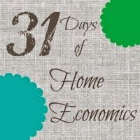 Life is {Sew} Daily: 31 Days of Home Economics - variety of topics