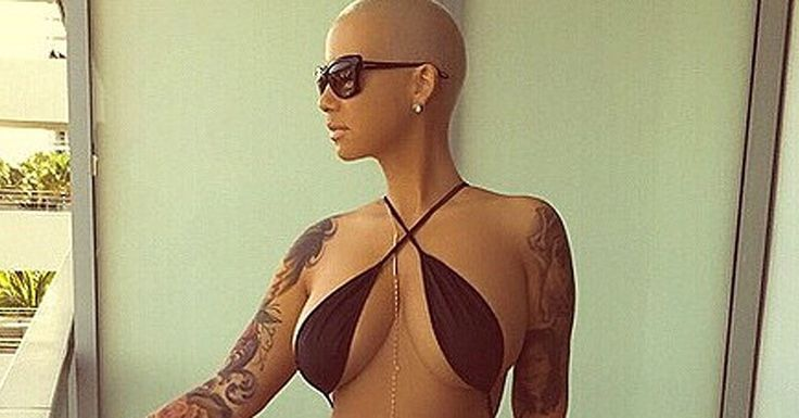 Amber Rose pushes the envelope even further in her latest Instagrams. All weekend, the model flaunted her bikini body in a series of supersexy snaps, donning a barely there G-string swimsuit. The pictures give a glimpse of her physique from all angles,
