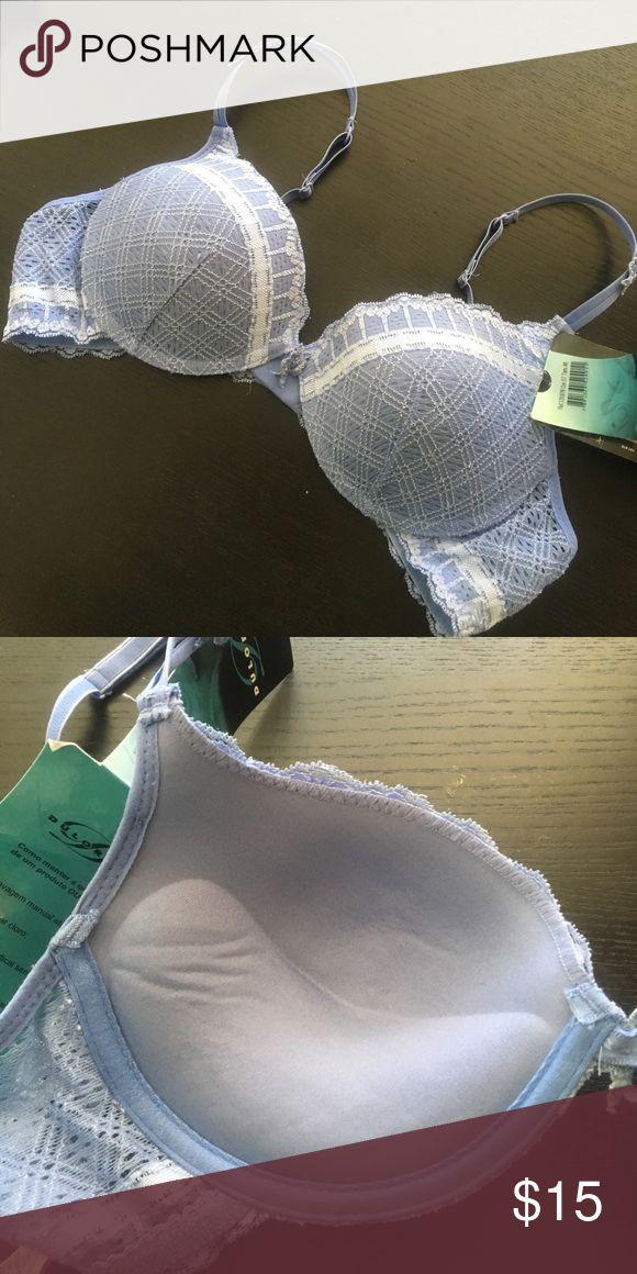 Lingerie from Brazil Duloren push up bra size 46. Lavender color. Have matching  panty too ! Duloren Intimates & Sleepwear Bras
