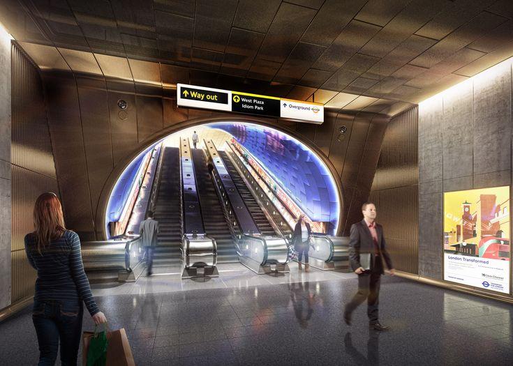 Studio Egret West reveals future London Underground stations