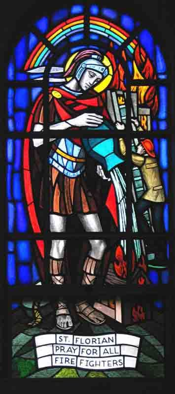Saint of the Day – May 4 – St Florian Died c 304 MARTYR – Patron of Linz, Austria; Kraków; chimneysweeps; firefighters; soap boilers; Upper Austria #pinterest was an officer of the Roman army, who occupied a high administrative post in Noricum, now part of Austria, and who suffered death for the .......| Awestruck.tv