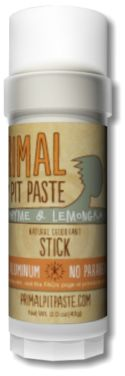 Primal Pit Paste - Primal Pit Paste STICK, $10.95 (http://primal-pit-paste.mybigcommerce.com/primal-pit-past-stick/)