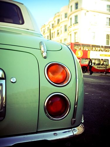 046 nissan figaro by nik faulkner, via Flickr
