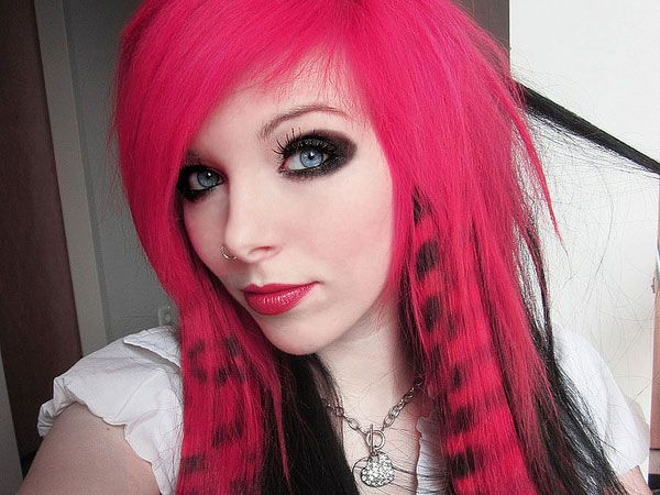 Red And Black Hair Dye Styles: 17 Best Images About Cute Hair Dye On Pinterest