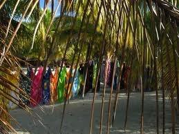 Tropical clothesline
