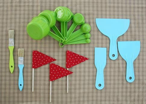 Don't buy a bunch of new sand toys, make your own sand toys. This and 40 Beach Tips and Tricks on Frugal Coupon Living