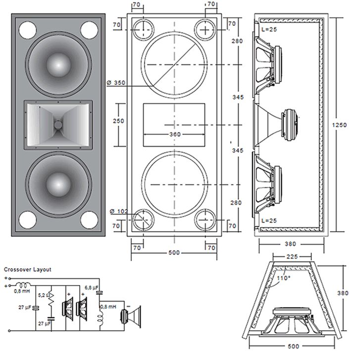 Building your own speakers is easy when you order plans from Bill Fitzmaurice…