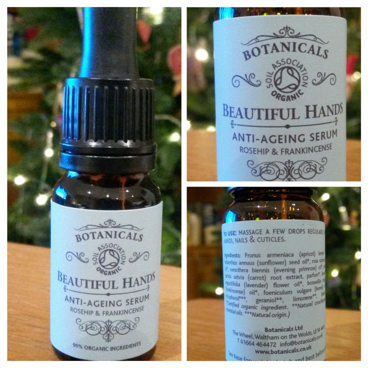 Beautiful Hands Anti Aging Serum from Botanicals