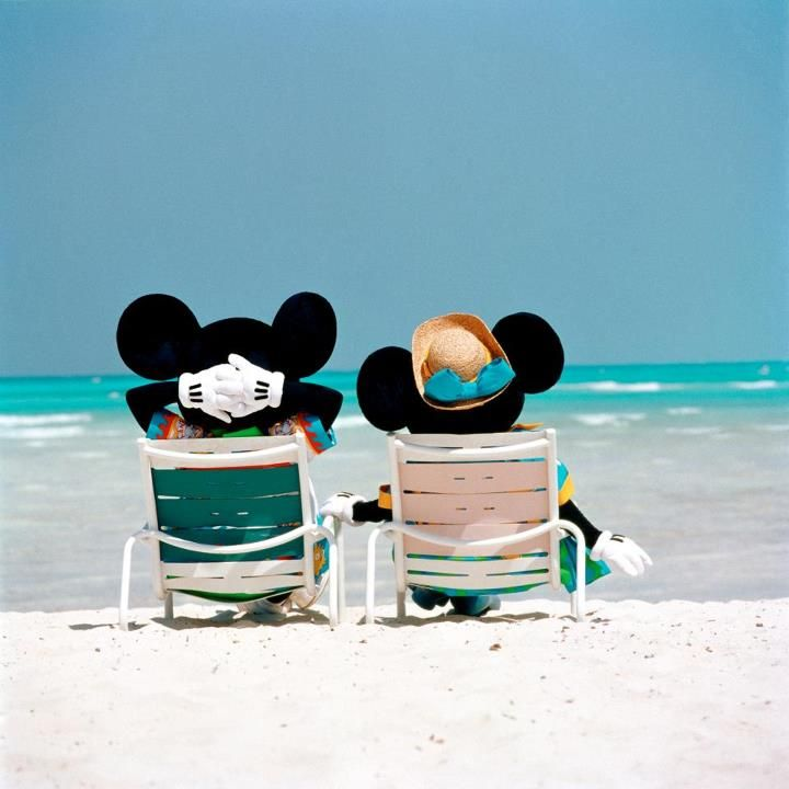 Mickey and Minnie on Castaway Cay