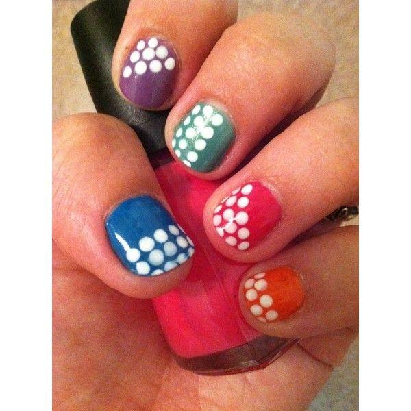 hot nail art trends nail designs sephora liked on polyvore - Hot Designs Nail Art Ideas