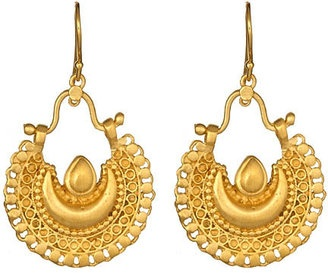 ShopStyle: Satya Jewelry Bellydance Crescent Earrings