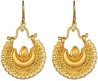 ShopStyle: Satya Jewelry Bellydance Crescent Earrings