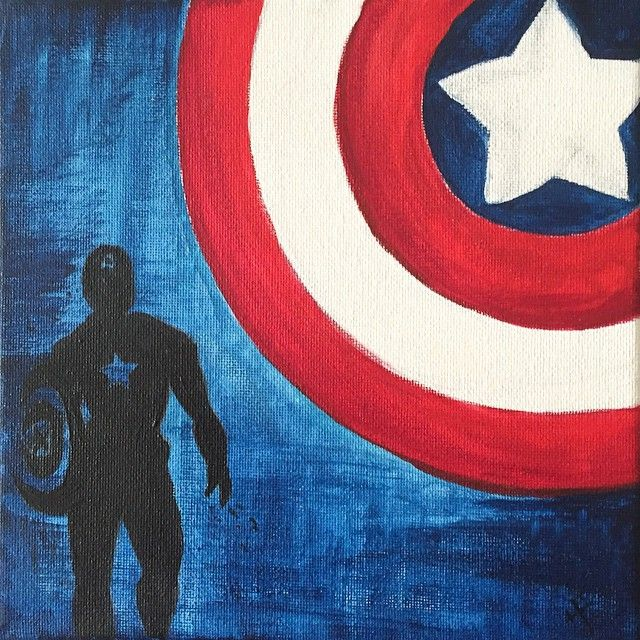 25 best ideas about captain america drawing on pinterest for Americas best paint