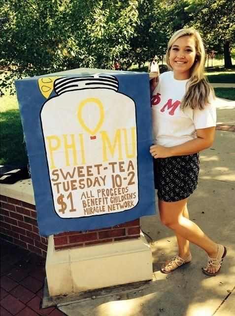 For all you Southern Chapters! Break out the sweet tea!