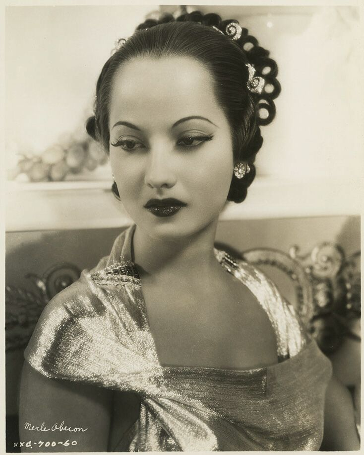 17 Best images about Merle Oberon on Pinterest | Scarlet ...