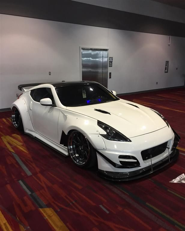 nissan 370z sema2016 by chariotz. Click to view more photos and mod info.