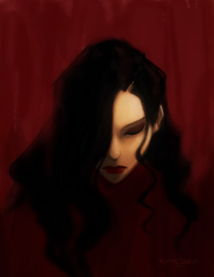 Normally, I would just ride on the coattails of whatever end-of-the-week episode sketch Joaquim posts, because he does those better than I do/can, but it looks like he didn't get a chance to do one this week. So I did a quick Asami painting to accompany the airing of episode 107 today. Hope you guys enjoy that one! It's a doozy.