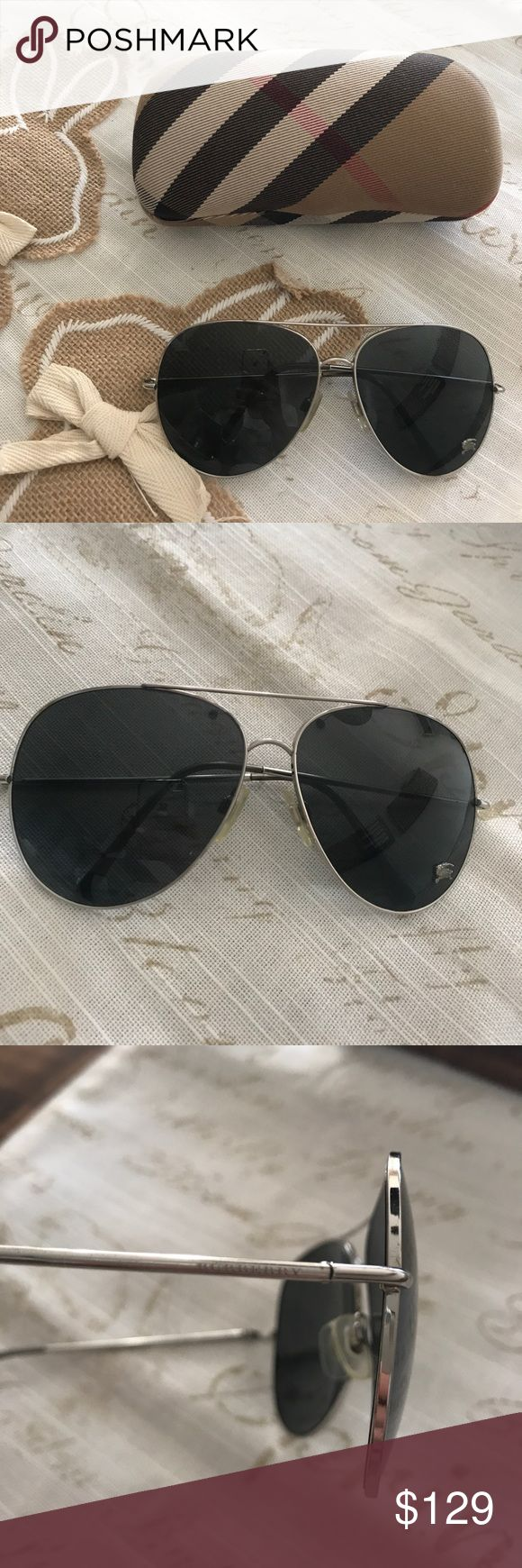 burberry sunglasses on sale c9k7  Burberry sunglasses aviator/ perfect condition