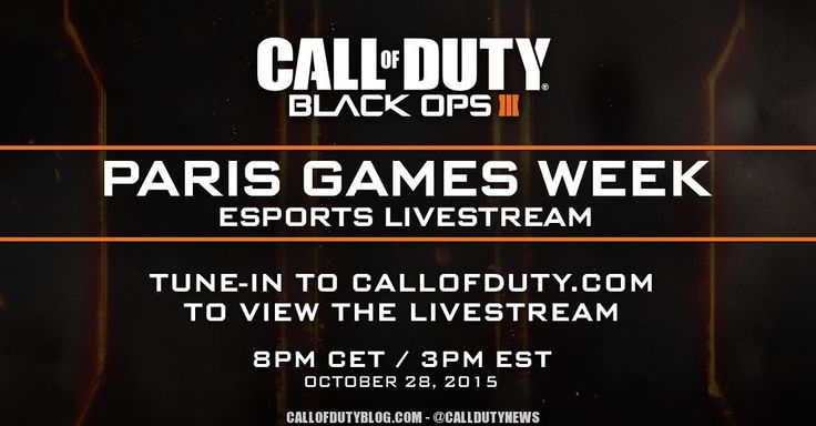 New Black Ops 3 Maps to Be Shown at Paris Games Week on October 28th