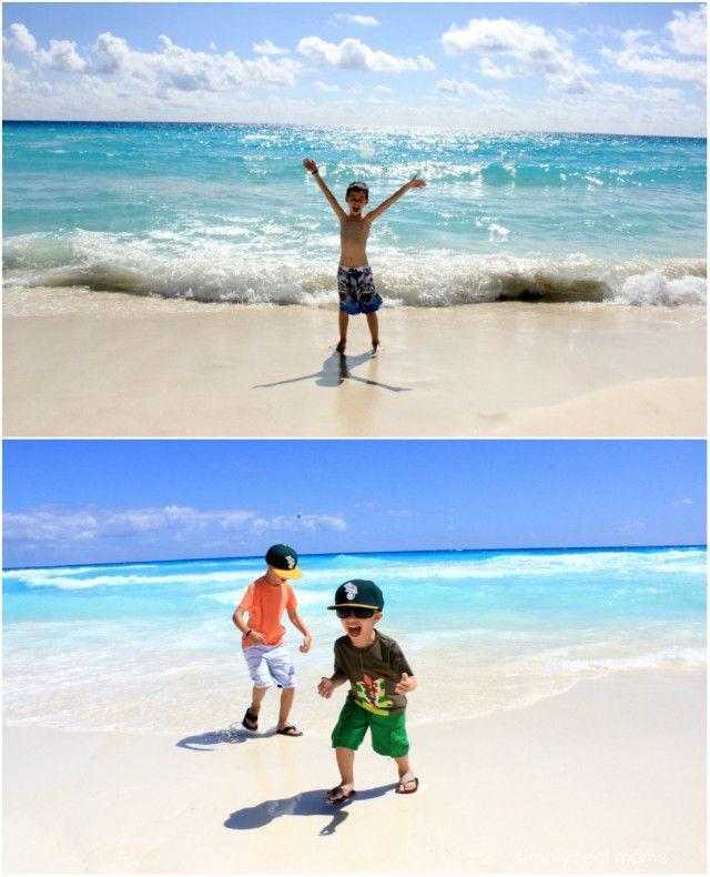 Beach at the Hard Rock Cancun. Hard Rock Hotel Cancun: All Inclusive, Family Friendly Resort