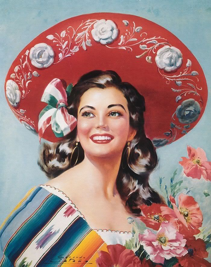 Mexican Sombrero | hmm, I am very sure I can be chinese pin up!