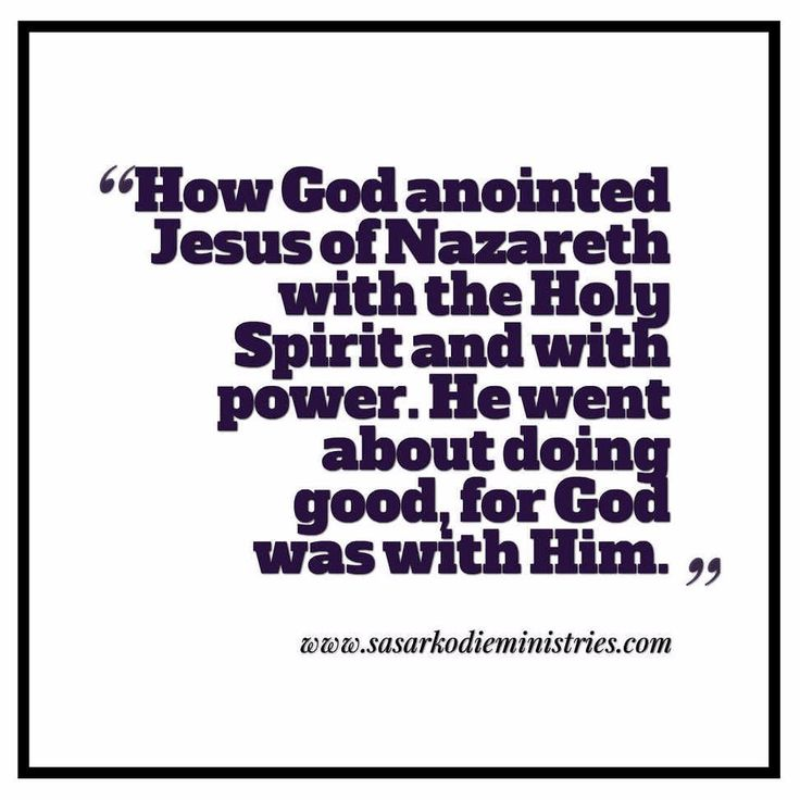 "How God anointed Jesus of Nazareth with the Holy Spirit and with power. He went about doing good and healing all who were oppressed by the devil for God was with him.(Acts 10:38 ESV)  In this summary of the earthly life of Jesus Christ the first thing mentioned is that He ""went about doing good."" What does the Bible mean when it speaks of ""doing good?"" Doing good must involve some type of giving: either of time or resources. How else can anyone do good?  Look at some of the verses that…"