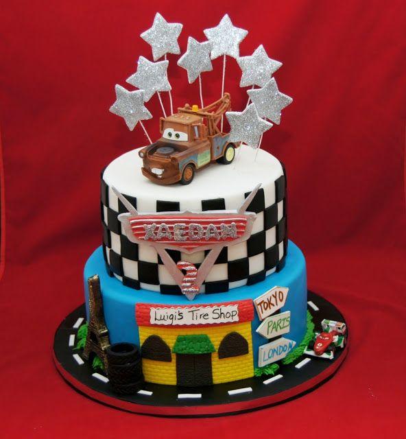 disney cars cake - Disney Cars 2 Games Online Free For Kids