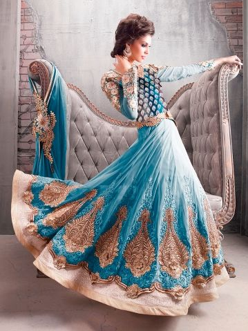 Different Party Wear Designer Long Anarkali Suit [#Zoy9007]