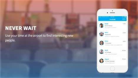Airport Social Platforms : spontaneous interaction